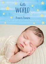 Brushed Hello World by Estefanie Tawoy