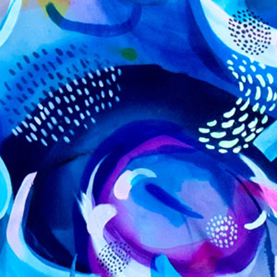 art prints - Deep Blue Sea by Suze Ford