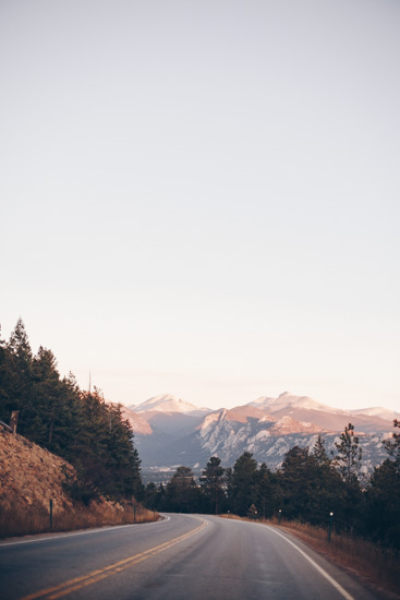 art prints - Sunrise Over Estes Park by The One With Wanderlust