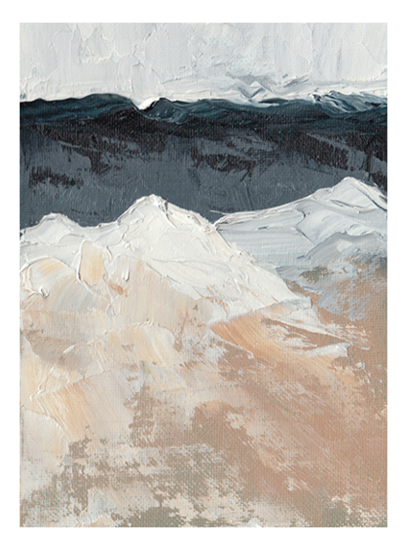 art prints - Mountain Movements by Kristen Franklin