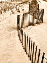 dune fence by Deana Clement