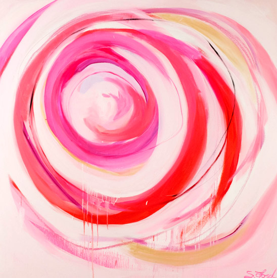 art prints - I have this thing with Pink 2 by Suze Ford