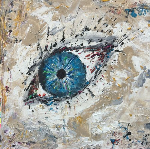 art prints - Watcher by Karin Franchi