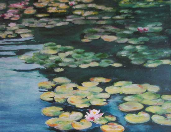 art prints - My Monet by Deb Perugi