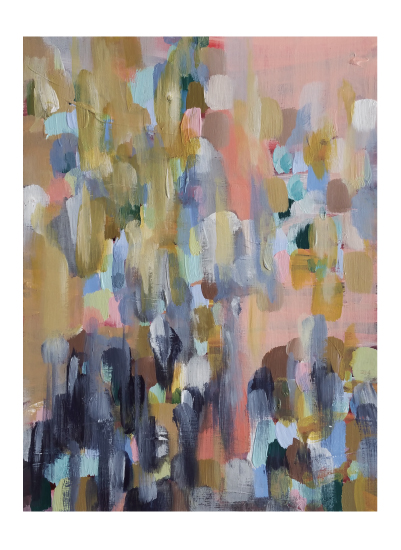 art prints - Layered Indigo by Lisa Fay Vongerichten