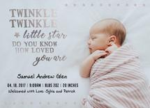 Twinkle Twinkle Baby St... by Janelle Williams