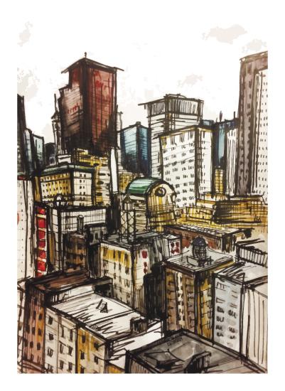 art prints - New York City by Kristina Me