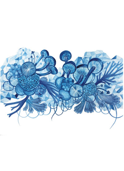 art prints - As Blue as your eyes by Patricia Cascino