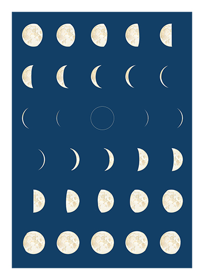 art prints - Phases by Anna Mkhikian