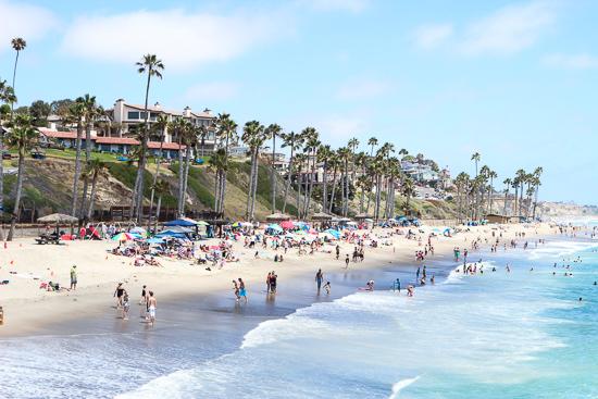 art prints - Beach Days in Cali by Raquel Guzman