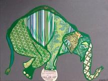 Art Ball Elephant by Susannah Raine-Haddad