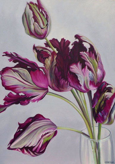 art prints - Tulip Drama by Laura Dick