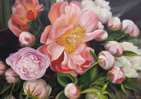 art prints - Peony Joy by Laura Dick