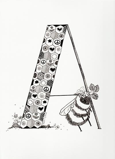 art prints - A- Doodle by ArtLab700