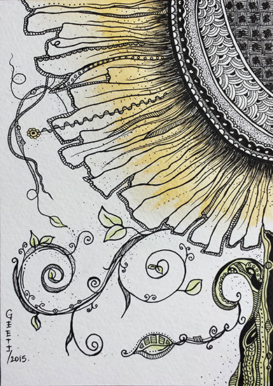 art prints - Daisy by ArtLab700