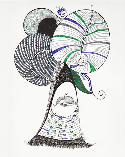art prints - Whimsical Tree by ArtLab700
