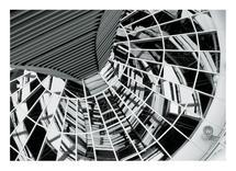 Reichstag Reflection by Leslie Borchert