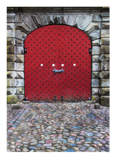 art prints - the gates of Helsingør by Leslie Borchert