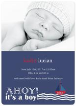 Ahoy! It's A Boy! by Janelle Williams