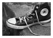Converse Shoe by Amy Stevenson Wilson