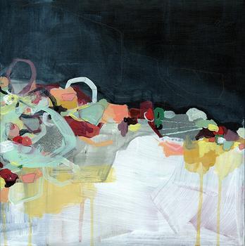 Abstract Landscape (Dark)