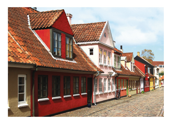 art prints - Painted Denmark by Leslie Borchert