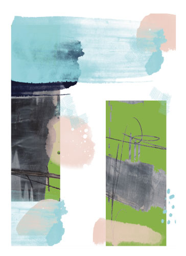 art prints - Greenery on my Mind by Eileen Tomson