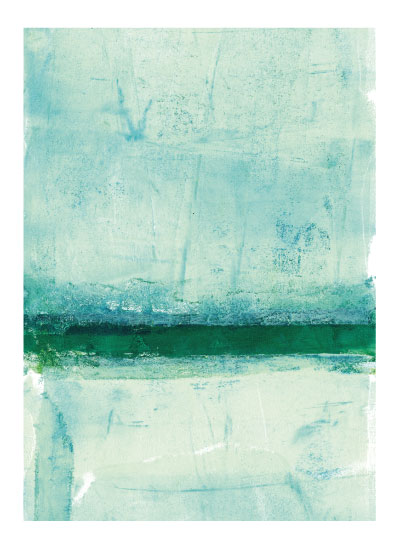 art prints - Ocean Abstract III by Vine and Thistle