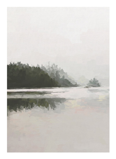 art prints - LakeView II by Amy Hall
