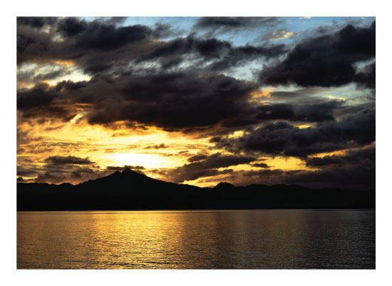art prints - Sunset Over Leyte by Estefanie Tawoy