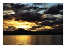 Sunset Over Leyte by Estefanie Tawoy