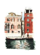 Gondolier in Waiting by Terri Crockett