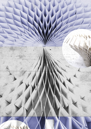 art prints - Folds:Maze by Zander Lensch