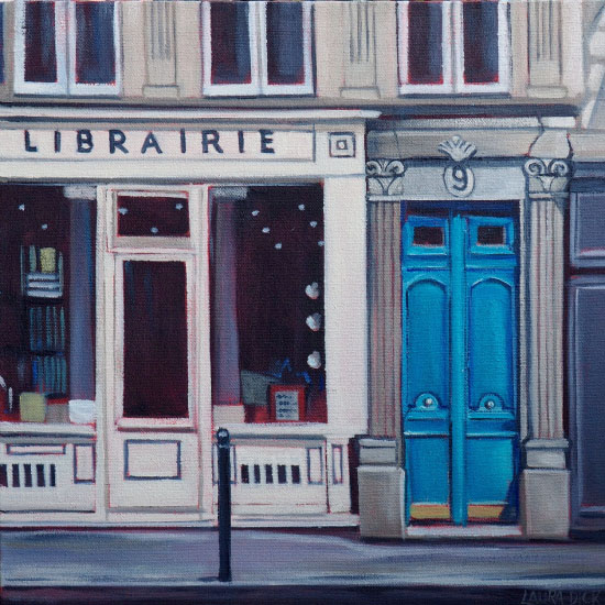 art prints - Libraire by Laura Dick