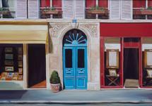 Parisian Door by Laura Dick