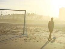 Soccer in the end of th... by Juliano Lamb