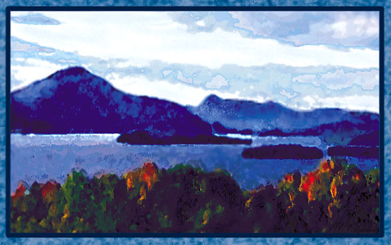 art prints - Lake Memphremagog by Sheri C. Hall