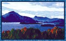 Lake Memphremagog by Sheri C. Hall