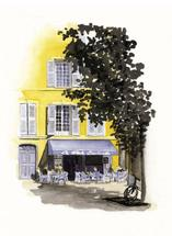 Petite French Cafe by Terri Crockett