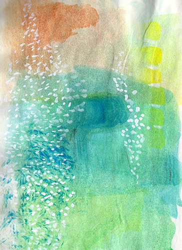 art prints - underwater garden by Eleni Sianis