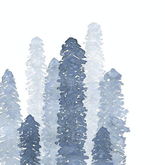 art prints - Indigo Forest by Heidi Heitz