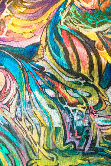 art prints - Fluid Stained Glass by Wonder Art