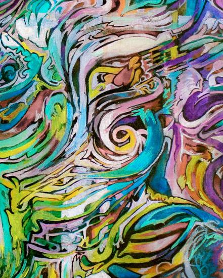 art prints - Colour Explosion by Wonder Art