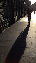 walking alone in the st... by Juliano Lamb