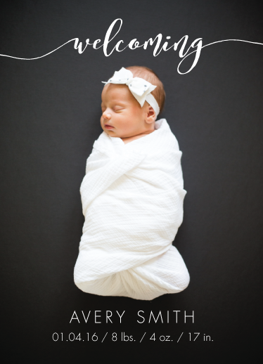 birth announcements - A Warm Welcome by Jhudy Lea Samson