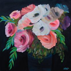 Flowering Brushstrokes