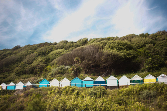 art prints - Beach Hut Bliss by Wonder Art