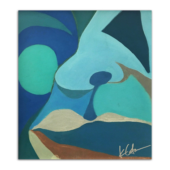 art prints - Talking Blue in the Face by KANDI COTA