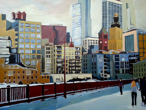 art prints - Downtown Minneapolis by Alexandra Betzler