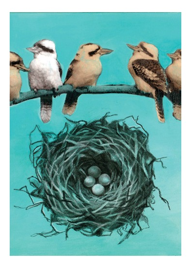 art prints - I'm Nesting. by Amy Leong